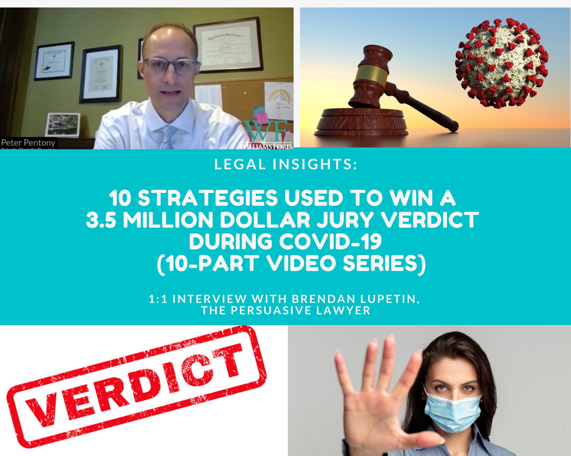 Pete's 3.5 Million Verdict